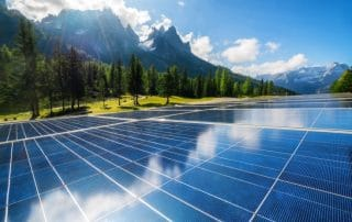 Solarpanel Banner